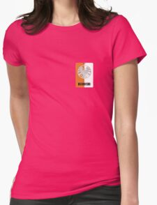 Shield Lanyard Womens Fitted T-Shirt