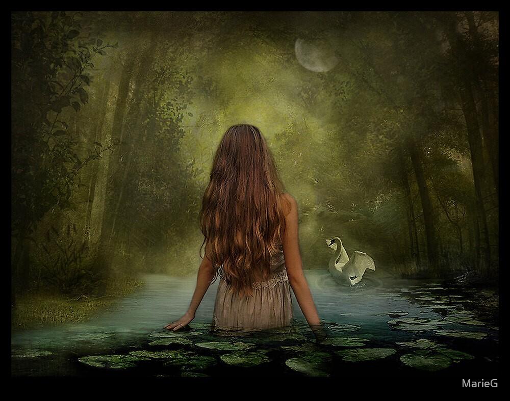 Swan Lake by MarieG