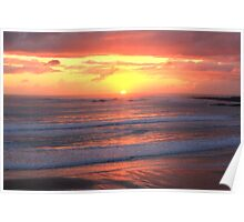 Setting Sun - Spanish Point Poster