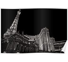 Paris in Las Vegas Poster