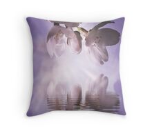A close up view of the beauty of Spring Throw Pillow