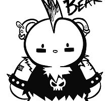 PUNK BEAR 2 by chibicelina
