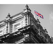 Downing Street Flag Photographic Print