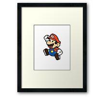 Mariosaic Framed Print