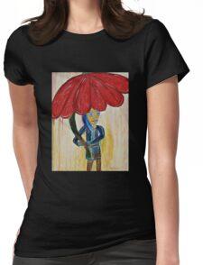 Flower Girl Womens Fitted T-Shirt