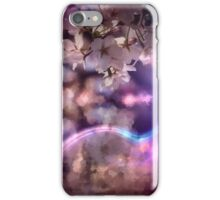 Spring with pink light iPhone Case/Skin