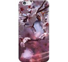 Cheery blossom in splendid pink iPhone Case/Skin