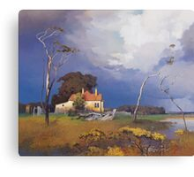 Ash Island Canvas Print