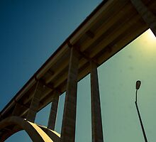 Hoover Dam Bypass Bridge by Carol Fan