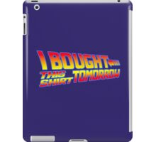 FUTURE SHIRT (Navy Blue Edition)  iPad Case/Skin