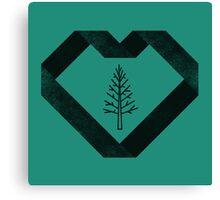 I Heart Trees Canvas Print