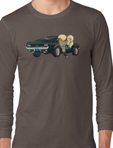 Puppies and a Bullet Long Sleeve T-Shirt