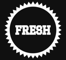 Fresh Sun Logo White Ink | Fresh Thread Shop by FreshThreadShop