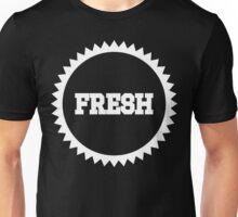 Fresh Sun Logo White Ink   Fresh Thread Shop Unisex T-Shirt