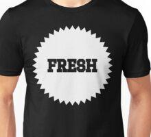 Freshness Seal White Ink | Fresh Thread Shop Unisex T-Shirt