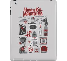How to Kill Monsters iPad Case/Skin