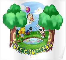 Poke'Crossing Poster
