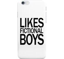 Glee Likes Fictional Boys iPhone Case/Skin