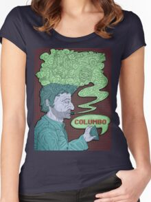 Columbo's Cigar Women's Fitted Scoop T-Shirt