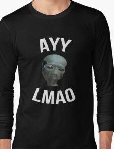 Ayy Lmao - Black / Dark Long Sleeve T-Shirt