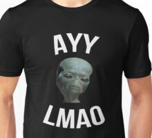 Ayy Lmao - Black / Dark Unisex T-Shirt