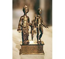 Juno and Genius bronze Age sculptur Cote d'Or Cultural Museum Dijon France 19840430 0020 Photographic Print