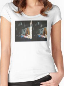 Trash Parrot Women's Fitted Scoop T-Shirt