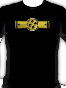 FR-S Pistons GT 86 Yellow Canarino T-Shirt