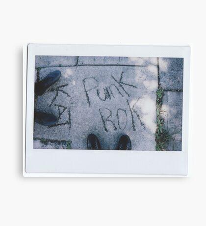 Punk Rock Canvas Print