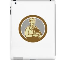 Granny Cook Mixing Bowl Oval Retro iPad Case/Skin