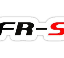 FR-S Fonts Classic Sticker