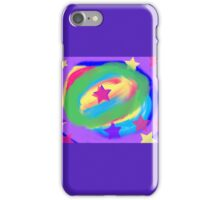Abstract colorful stars iPhone Case/Skin
