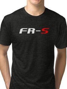 FR-S Fonts Classic White Tri-blend T-Shirt