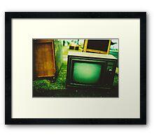 Video killed the radio star Framed Print