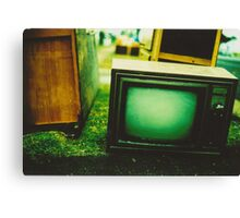 Video killed the radio star Canvas Print
