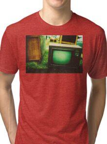 Video killed the radio star Tri-blend T-Shirt
