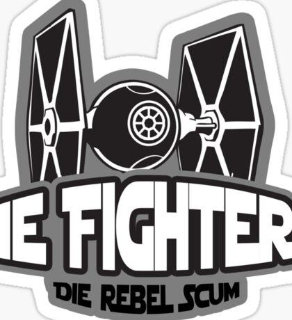 Tie Fighters Sticker
