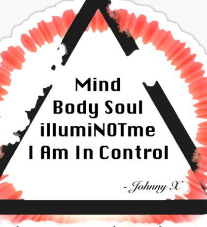 illumiNOTme T-Shirt Design Sticker