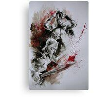 300 Spratan Greek Warriors Canvas Print