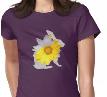 Rabbit in the Spring Womens Fitted T-Shirt