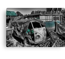 VW Van Split Screen Canvas Print