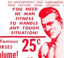 Fight! Wrestle! Jiu-Jitsu! Sticker