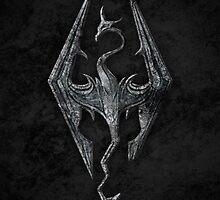 Skyrim logo by Beefcaker