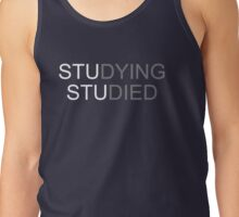 studying studied Tank Top