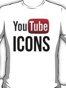 YouTube Icons logo T-Shirt