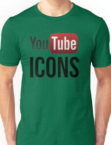 YouTube Icons logo Unisex T-Shirt