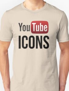 YouTube Icons logo T-Shirt