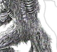 Shade - undead werewolf Sticker