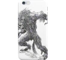 Shade - undead werewolf iPhone Case/Skin