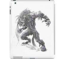Shade - undead werewolf iPad Case/Skin